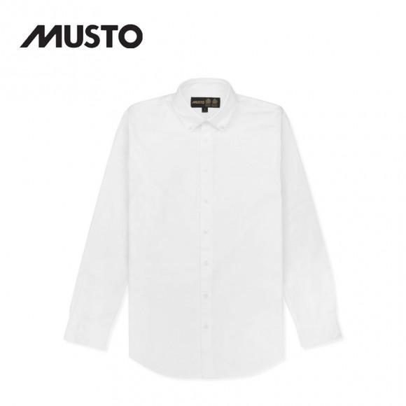 Musto Classic Button Down Oxford Shirt White
