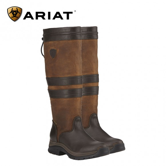Ariat Braemar Gtx Boot - Brown and Ebony (Female)