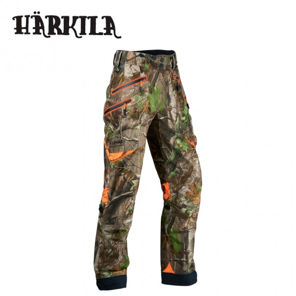 Harkila Moose Hunter Trousers Mossy Oak Country/Blaze