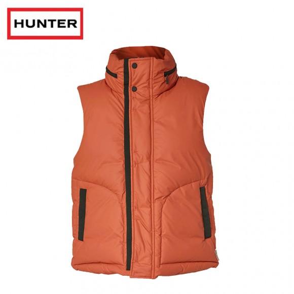 Hunter Original Rubber Touch Down Gilet Orange