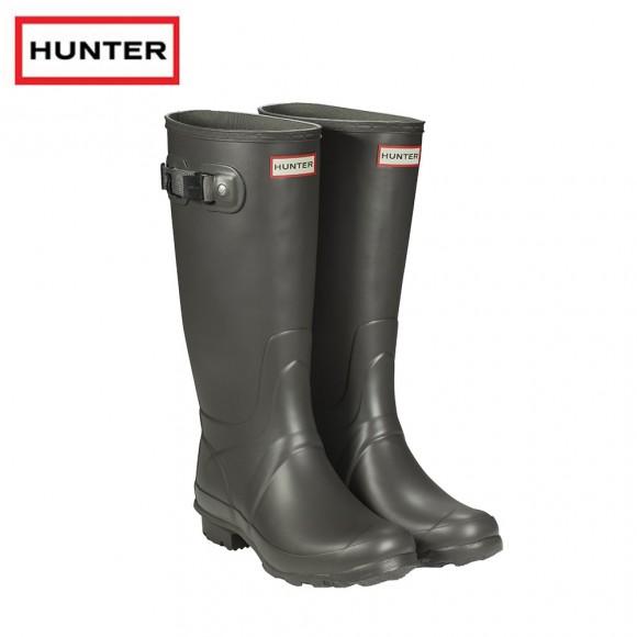 Hunter Field Huntress Slate Wellington Boots (Ladies)