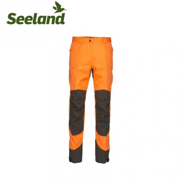 Seeland Kraft Trousers Hi Vis Orange