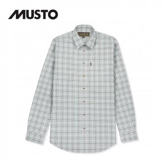 Musto Classic Twill Check Shirt Highgrove Estate Check