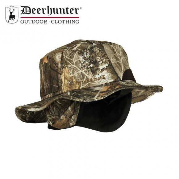 Deerhunter Muflon Hat W. Safety Realtree Edge Camo