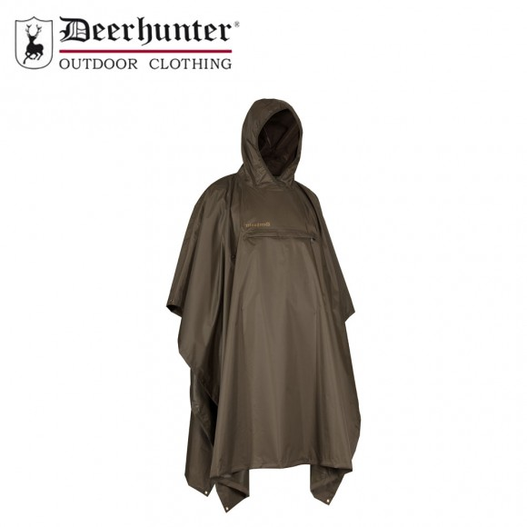 Deerhunter Survivor Rain Poncho Timber
