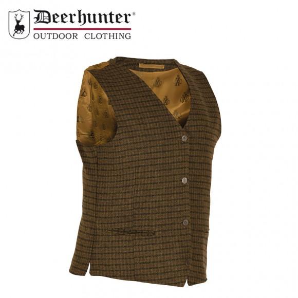 Deerhunter Beaulieu Formal Waistcoat Chestnut