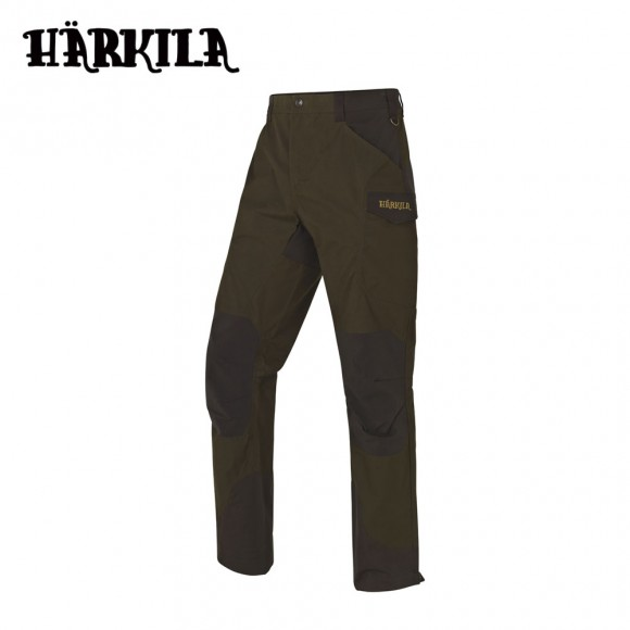 Harkila Gevar Trousers Willow Green/Shadow Brown