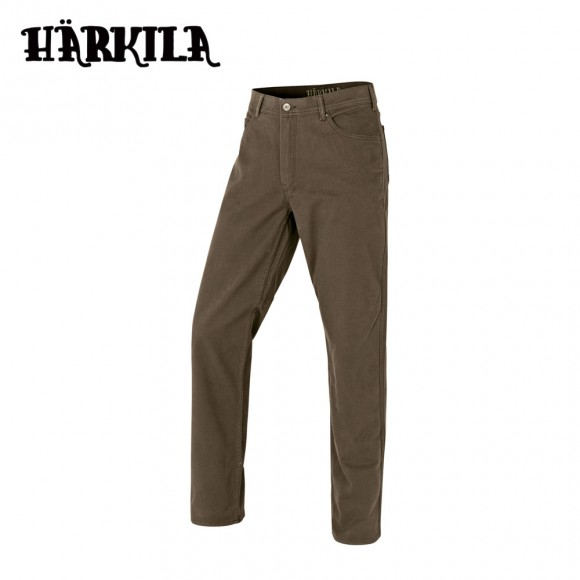Harkila Hallberg 5 Pocket Trousers Slate Brown