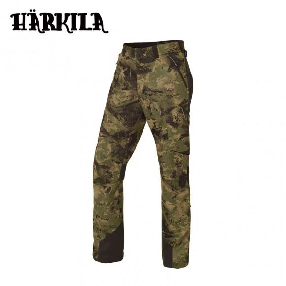 Harkila Lagan Camo Trousers Axis Msp Forest Green