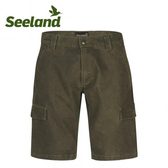 Seeland Flint Shorts Dark Olive