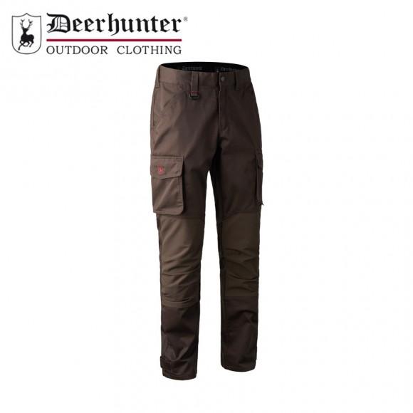 Deerhunter Rogaland Stretch Trousers Brown Leaf