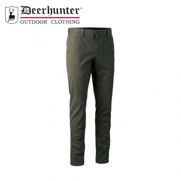 Deerhunter Casual Trousers Brown Leaf