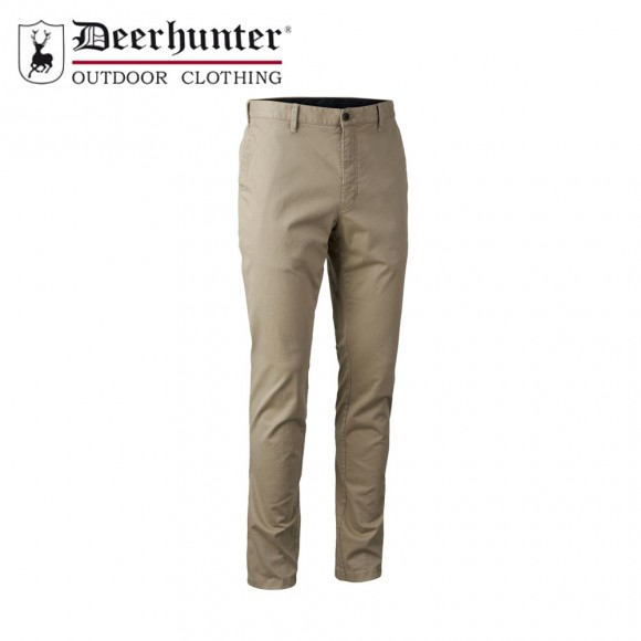 Deerhunter Casual Trousers Dark Sand