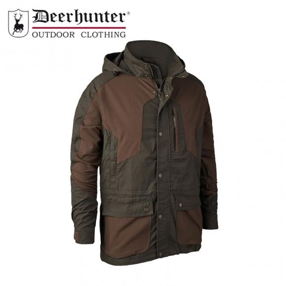 Deerhunter Strike Long Jacket Deep Green