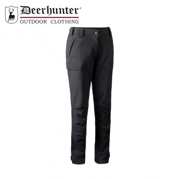 Deerhunter Lady Ann Full Stretch Trousers Black