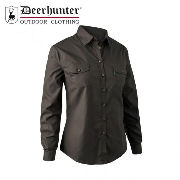 Deerhunter Lady Cari Shirt Dark Elm