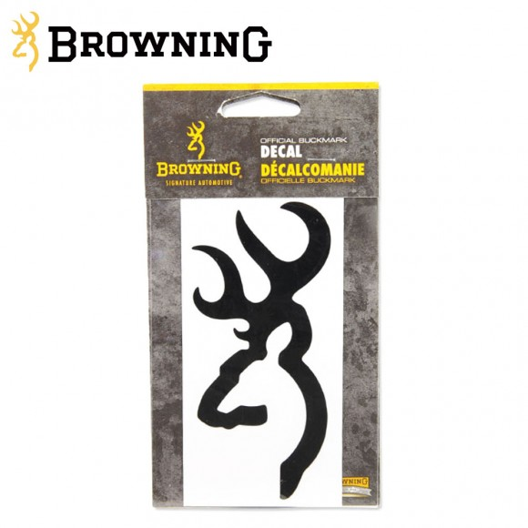 Browning Buckmark Decal 4 Inch