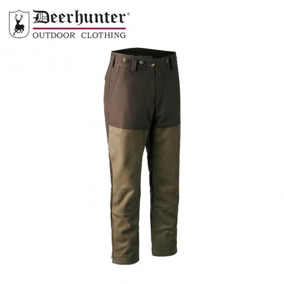 Deerhunter Marseille Leather Mix Boot Trouser Walnut