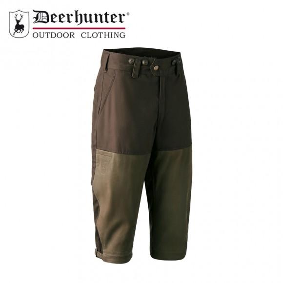 Deerhunter Marseille Leather Mix Breeks Walnut