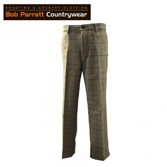 Bob Parratt Grouse Tweed Trousers