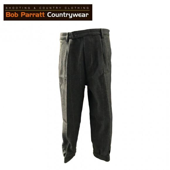 Bob Parratt Teal Tweed Plus Fours