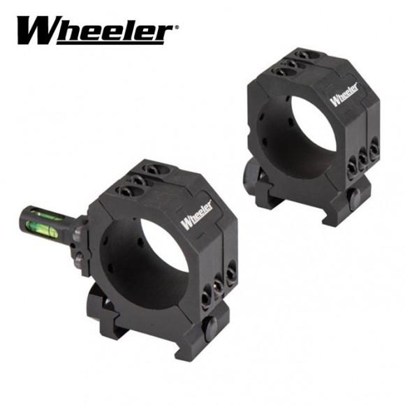 Wheeler Pic Rail Scope Rings 1 Inch