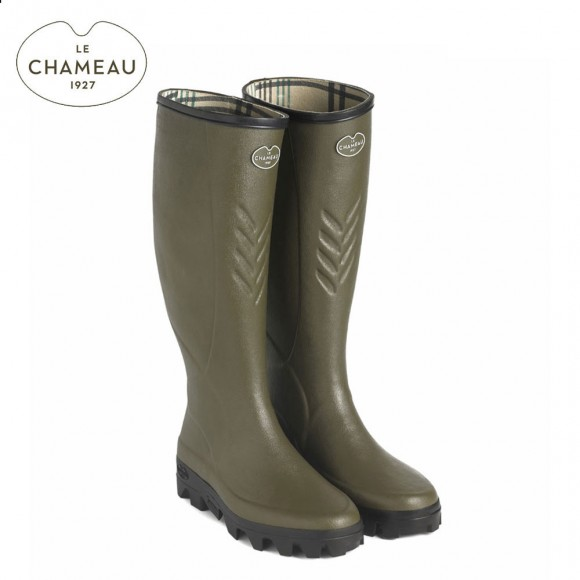 Le Chameau Ceres Jersey Lined Wellington Boots (Mens)