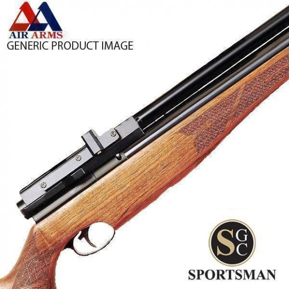 Air Arms S510 Carbine Beech Side Lever