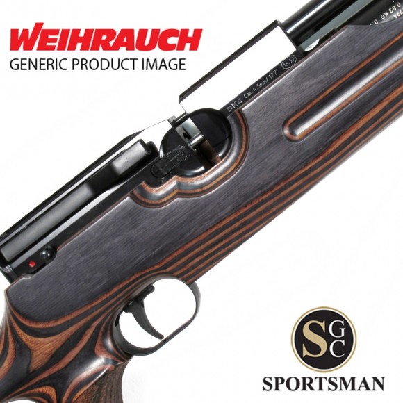 Weihrauch HW100 T Thumbhole Laminated