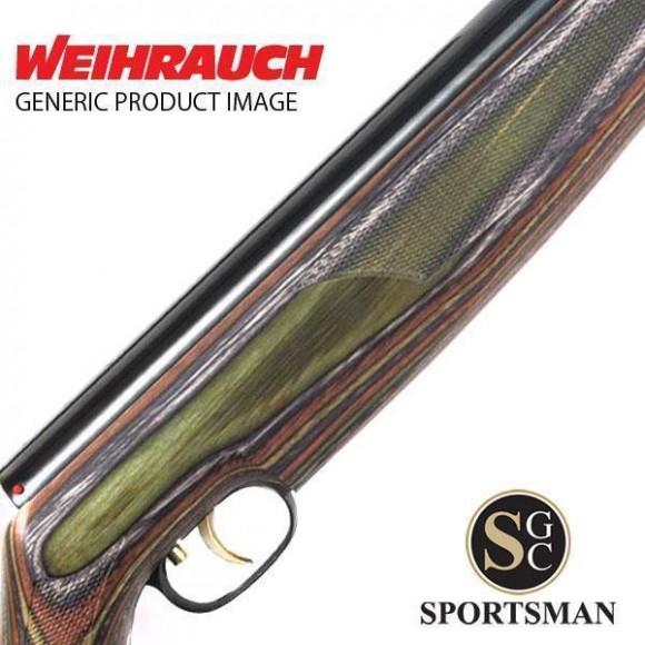 Weihrauch HW97K Special Edition Green-Blue-Brown Laminate