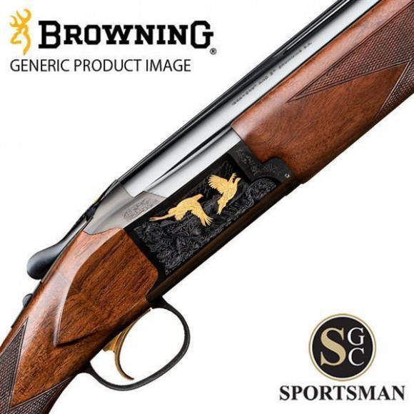 Browning B725 Game UK Black Gold Ii Left Hand Inv Ds 12G