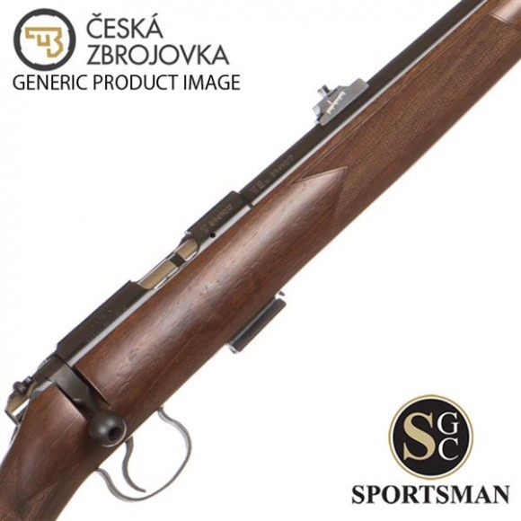 CZ 455 Full Stock Walnut 20 Inch