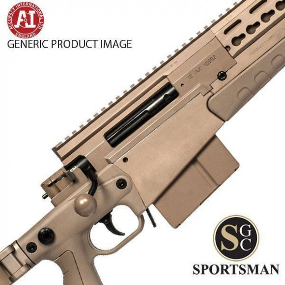 Accuracy International AXMC Pale Brown Tac M/Brake