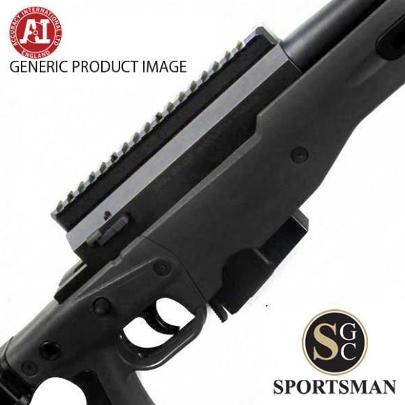 Accuracy International AT Black Std Muzzle Brake Folding Stock Left Hand