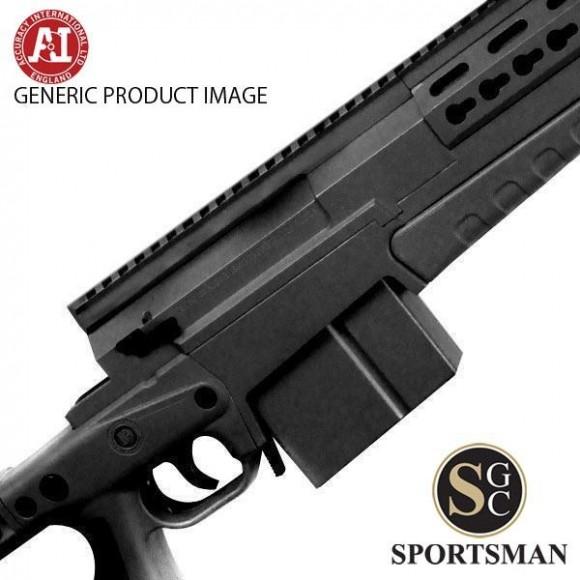 Accuracy International AXMC Black Tactical Muzzle Brake Left Hand