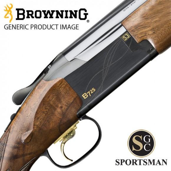 Browning B725 Sporter II Black Inv Ds 12G