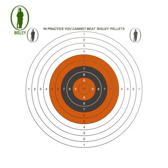 Bisley 14cm Economy Card Single Targets