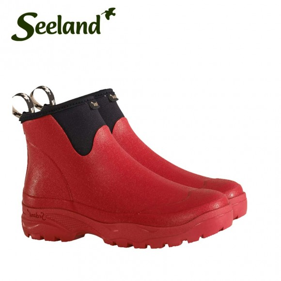 Seeland Rainy Lady 6.5 Inch Waterproof Ankle Boot Tango Red