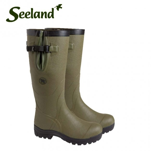Seeland Field Wellington Boot 17 4mm Olive