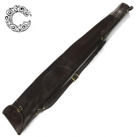 Croots Malton Bridle Leather Rifle Slip - Flap / Zip