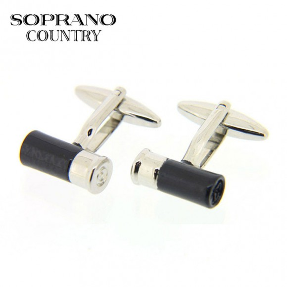 Sax Soprano Cartridge Cufflinks