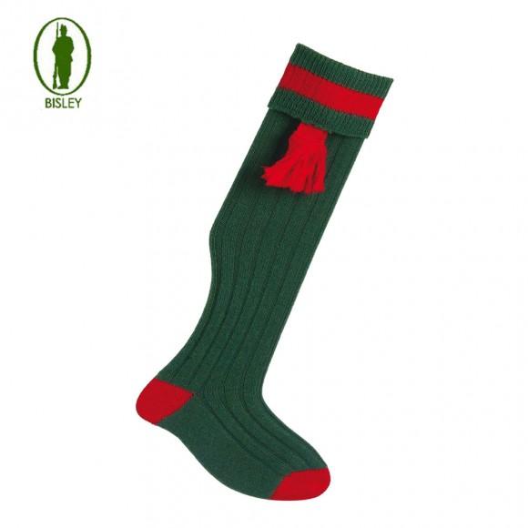 Bisley No.10 Socks Bottle/red