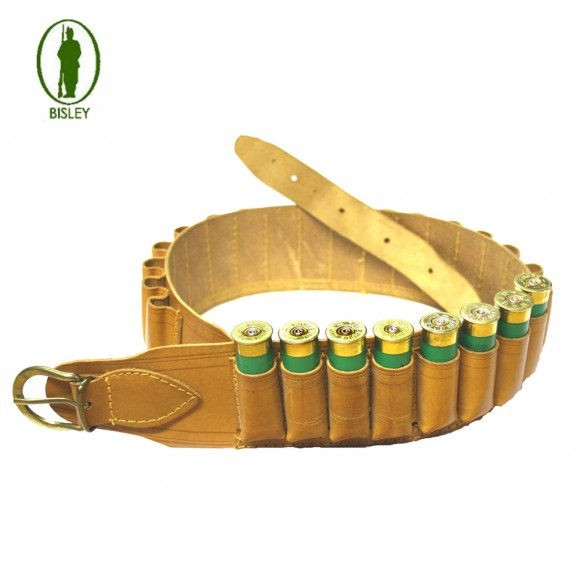 Bisley Cartridge Belt Deluxe Natural Hide