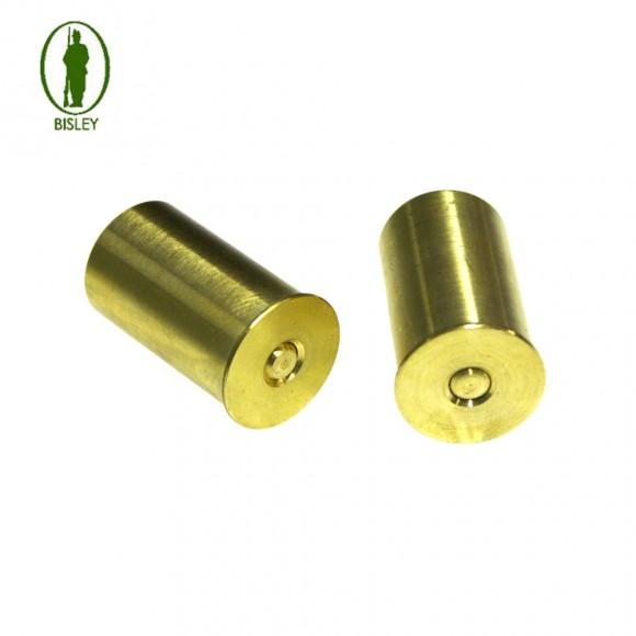 Bisley Brass Snap Caps - Pair