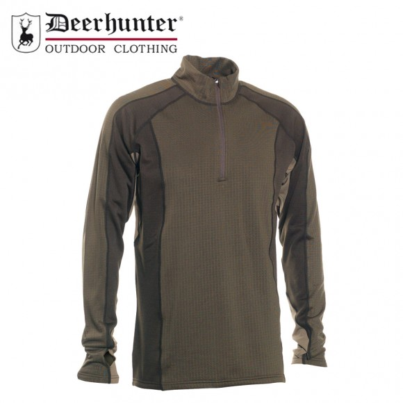 Deerhunter Greenock Underwear Shirt Zip Neck