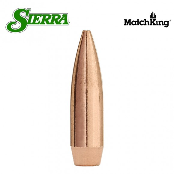 Sierra .22 Calibre (.224) HPBT-Hollow Point-Boat Tail Matchking Bullet Heads