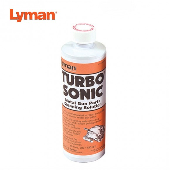 Lyman Turbo Sonic Gun Parts Cleaning Solution (Concentrate)