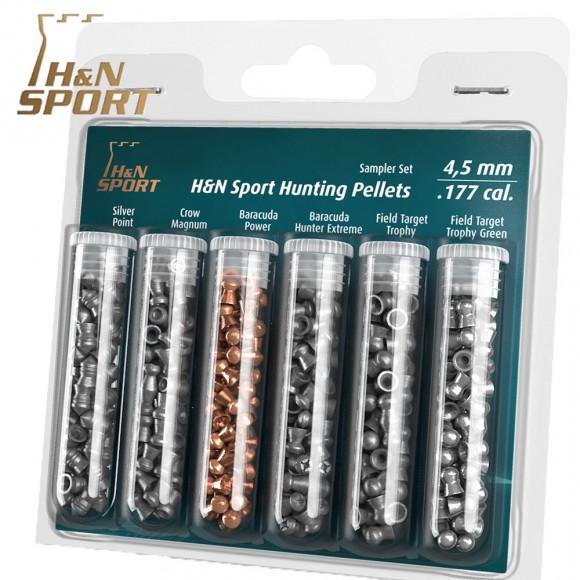 H And N Sampler Set Hunting Pellets