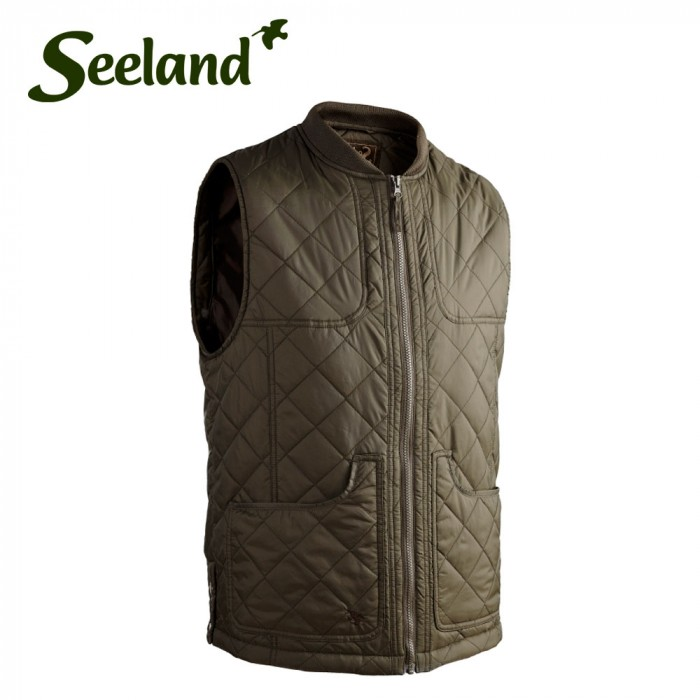 15ccde47f39 Buy Seeland Cottage Quilt Waistcoat Online. Only £28.99 - The Sportsman Gun  Centre | SGC