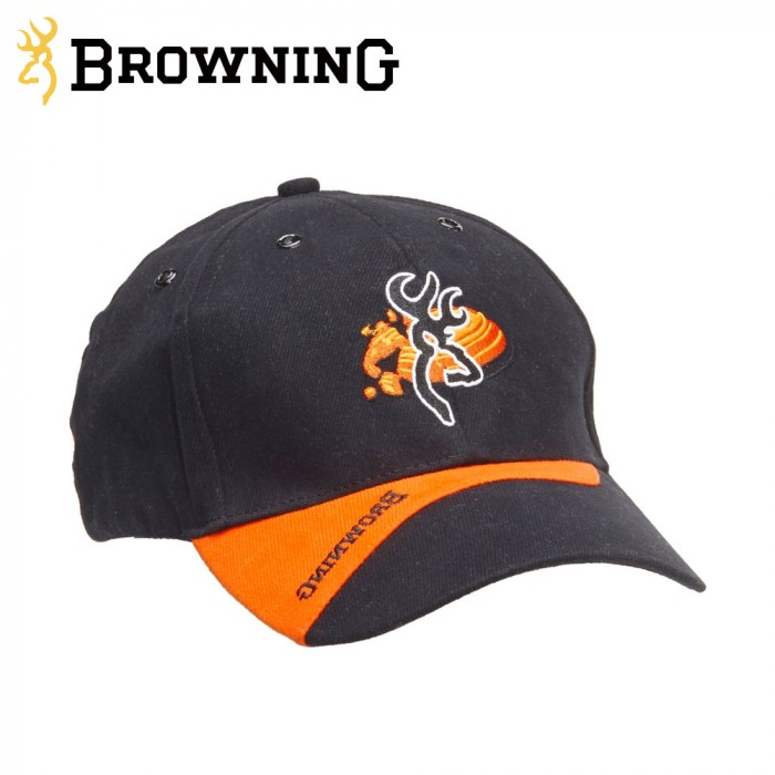 d2e6bd87923bb Buy Browning Cap Claybuster Black Orange Online. Only £3.50 - The ...